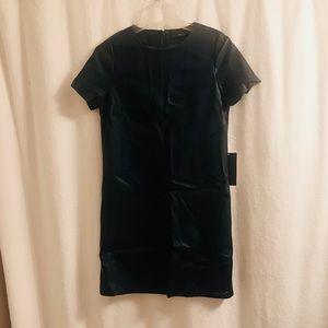 Brand new Zara faux leather dress